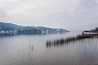 Pörtschach Halbinselpromenade Landspitz Blick nach Dellach 02032018 2672.jpg