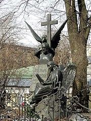 Tchaikovsky's tomb at the Alexander Nevsky Monastery