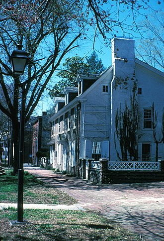 Dover Green Historic District - Parke-Ridgley House