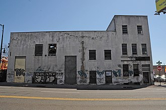 Passaic Machine Works-Watts, Campbell & Company - Building in 2016 showing recent deterioration