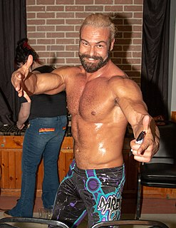 Justin Gabriel South African professional wrestler