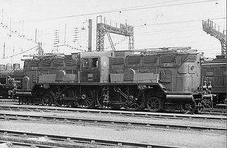 2BB2 400 class of 2 early French electric locomotives