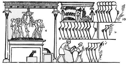 PSM V51 D243 Pressing the grapes and storing wine.png