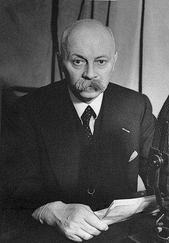 Anti-Revolutionary Party - Pieter Sjoerds Gerbrandy, Prime Minister 1940–1945 during World War II leading the Dutch government in exile.