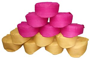 Maithils - The Paag is the tradition headgear of the Maithil people