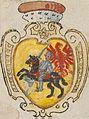 Padlašša, Pahonia. Падляшша, Пагоня (1586).jpg