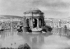 San Francisco - The Palace of Fine Arts at the 1915 Panama-Pacific Exposition