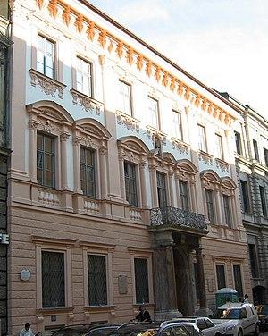 Enrico Zuccalli - Palais Porcia