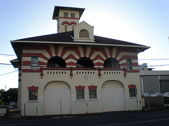 Oliver G. Traphagen - Palama Fire Station, Honolulu, Hawaii (1901)