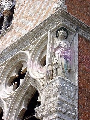 Raphael (archangel) - Raphael, Palazzo Ducale, Venice, detail