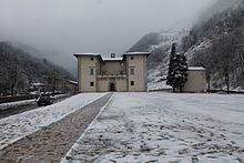 Palazzo Mediceo dopo la nevicata del 24/02/2013