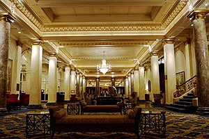 Fairmont Palliser Hotel - Lobby