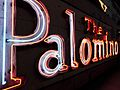 Palomino neon sign at Valley Relics Museum 2017-05-07.jpg