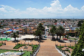 Metepec Town & Municipality in State of Mexico, Mexico