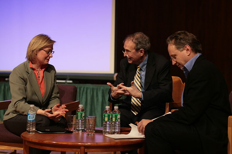 File:Panel Discussion Close-up, Science, Faith, and Technology.jpg