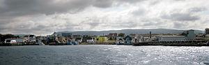 Chéticamp, Nova Scotia - Image: Pano Cheticamp