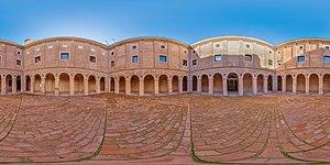 Panorámica esférica del Seminario de Nobles, Calatayud, España, 2014-12-29, DD 01-105 HDR PAN.JPG