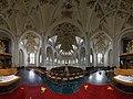Panorama photo of the interior of Grote of Onze Lieve Vrouwekerk (Harderwijk) II.jpg