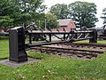 Pantserhek voor spoorbrug over de IJssel, Geniemuseum Vught, photo 2.JPG
