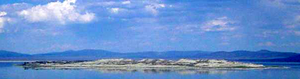 Paoha Island - Paoha Island viewed from Mono Lake Visitor Center