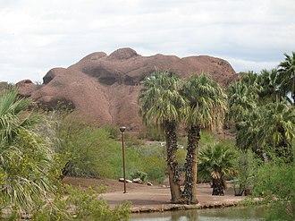 Papago Park - Image: Papagopark 1025