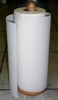 200px Paper towel How to Help Prevent the Spread of Viruses and Bacteria in your Kitchen