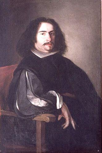 Agustín Moreto y Cavana - Agustín Moreto y Cavana's portrait by painter Juan de Pareja.