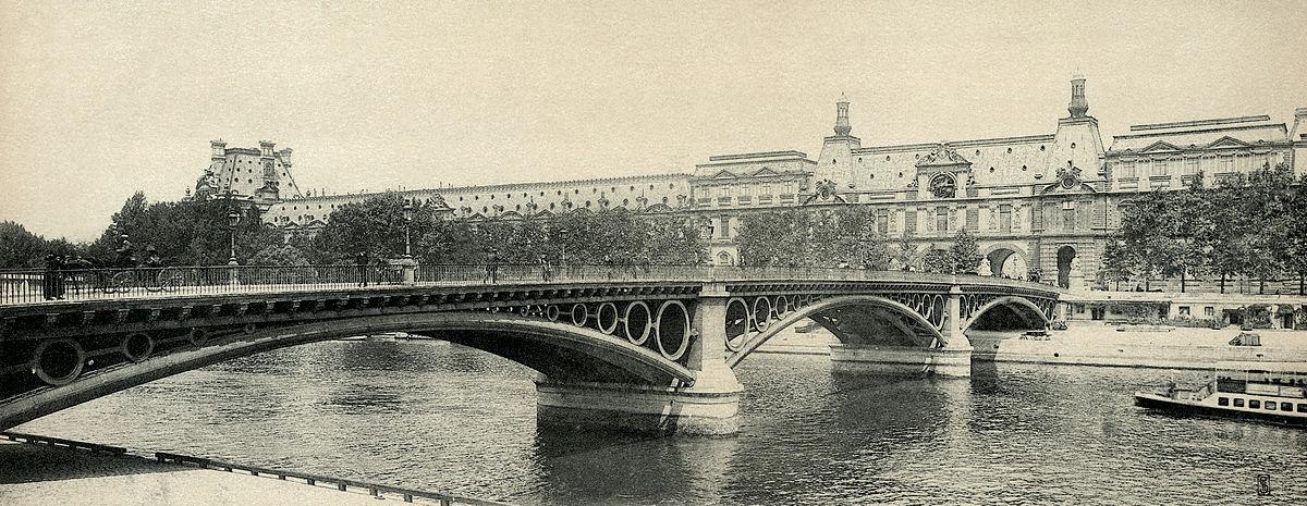 Image result for pont du carrousel bridge