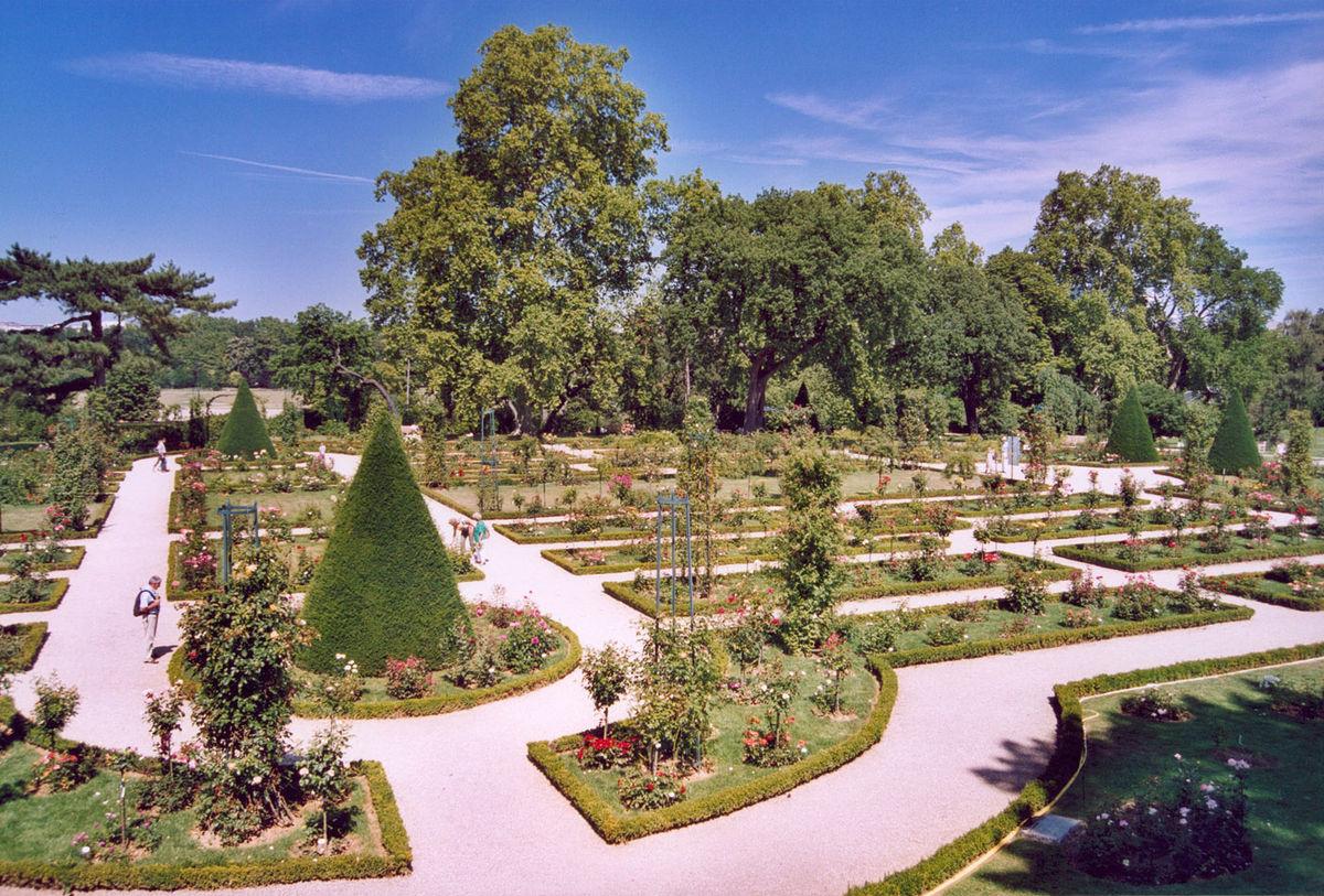 Roseraie de bagatelle wikip dia for Jardin bagatelle
