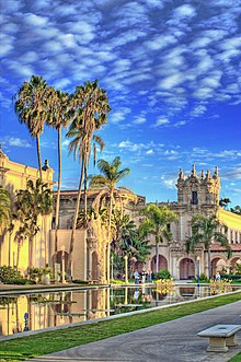 Balboa Park Site Of The California Pacific International Exposition In 1935 36