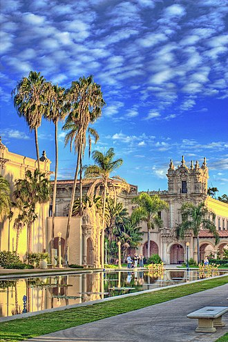 History of San Diego - Balboa Park, site of the California Pacific International Exposition, in 1935-36
