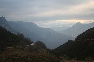 Vista del Parque Natural de Somiedo desde el i...