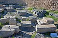 Parts of dedicatory exedrae on acropolis of Lindos.jpg