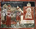 Patriarchate of Pec, St. Nicholas chapel - 16 The Polovtsian returns to pay his debt.jpg