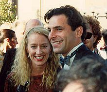 Patricia Wettig and Ken Olin on the red carpet at the 41st Annual Emmy Awards