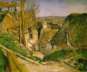 Œuvre la maison du pendu paul cézanne
