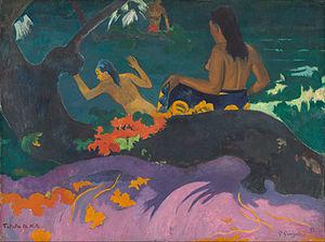 Fatata te Miti (By the Sea) - Image: Paul Gauguin Fatata te Miti (By the Sea) Google Art Project