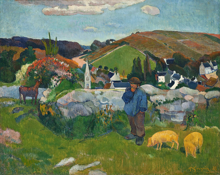 Fichier:Paul Gauguin 018 (The Swineherd).jpg