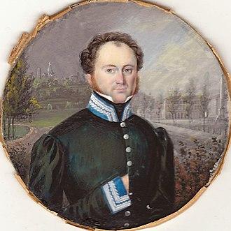 Esterházy torte - Prince Paul III Anton Esterházy de Galántha (1786–1866)