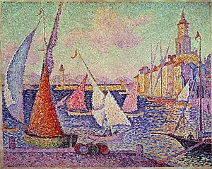 Paul Signac Port de Saint-Tropez