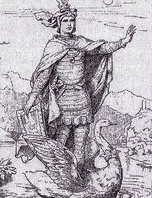 Prince Paul of Thurn and Taxis - Prince Paul of Thurn and Taxis as Lohengrin.