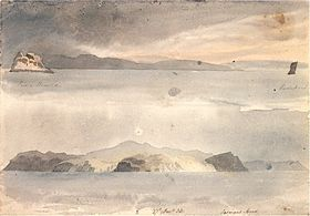 Pedra Branca and Eddistone (1823)