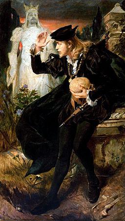 Pedro Américo - Visão de Hamlet 2