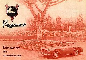 Pegaso Z-102 - 1952 Pegaso Z-102 brochure cover.