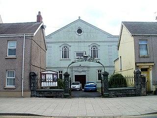 Penuel Baptist Chapel, Carmarthen Church in Wales, United Kingdom