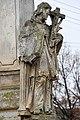 Pereszteg, Védőszentek szobra 2021 07 Nepomuki Szent János.jpg