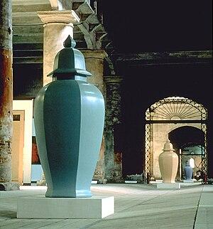 Allan McCollum - Perfect Vehicles, 1988. Installation: Venice Biennale Aperto, 1988