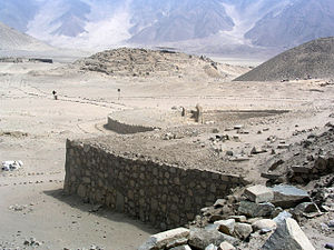 Andean preceramic - A view of Caral