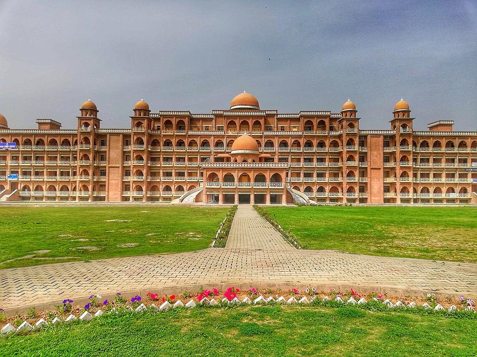 Peshawar University Oval Eye View