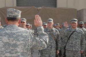 FORWARD OPERATING BASE ISKAN, Iraq U.S. Army G...